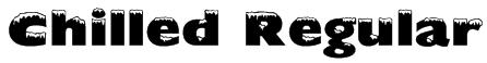 Chilled Regular Font