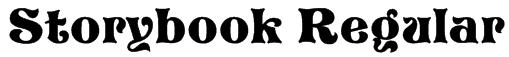 Storybook Regular Font