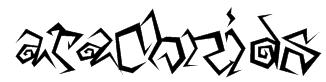 Arachnids Font