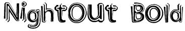 NightOut Bold Font