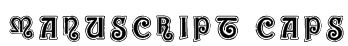ManuScript Caps Font
