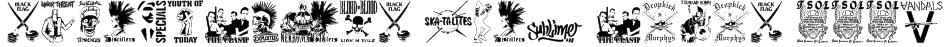 stencilpunks band logos 0001 Font