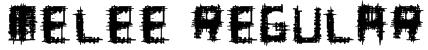 Melee Regular Font