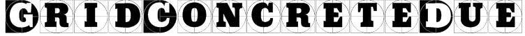GridConcreteDue Font