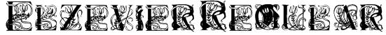 Elzevier Regular Font