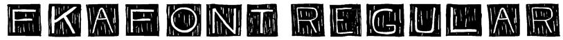 FKAFont Regular Font