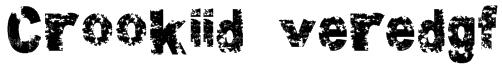 Crookiid veredgf Font
