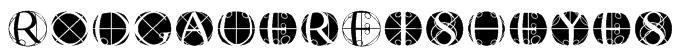 RodgauerFisheyes Font