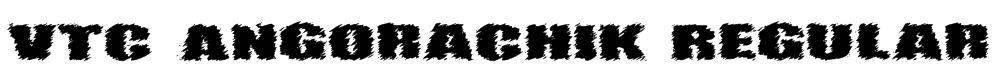 VTC AngoraChik Regular Font