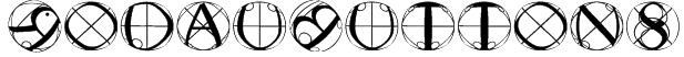 RodauButtons Font