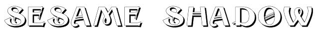 Sesame Shadow Font