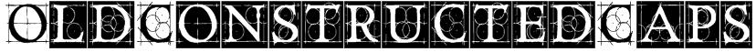 OldConstructedCaps Font