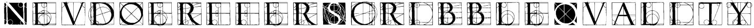 NeudoerfferScribbleQuality Font