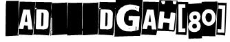 Jadefedgah[80] Font
