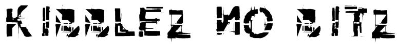 kibblez no bitz Font