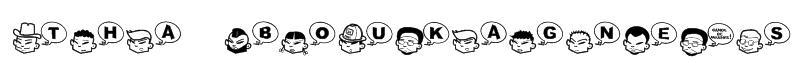 Tha Boukagne's Font