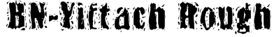 BN-Yiftach Rough Font