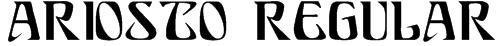 Ariosto Regular Font
