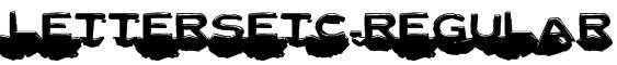 LetterSetC-Regular Font