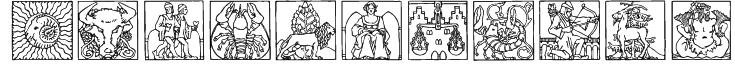 Zodiac03 Font