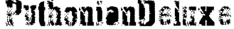 PythonianDeluxe Font