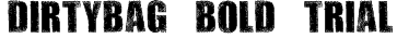 DIRTYBAG BOLD TRIAL Font