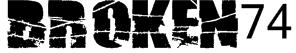 Broken74 Font