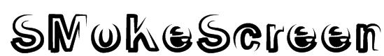 SMoKeScreen Font