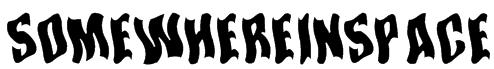 SomewhereInSpace Font