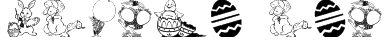 Easter art Font