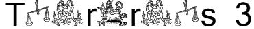 Tierkreis 3 Font