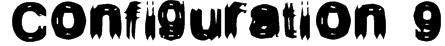 Configuration 9 Font