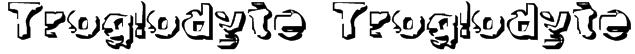 Troglodyte Troglodyte Font