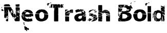 NeoTrash Bold Font
