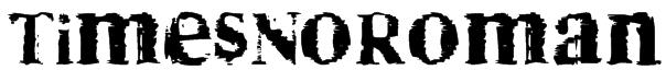 TimesNoRoman Font