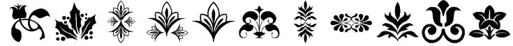 lpflowers2 Font