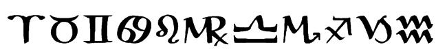 AstroGanza Font
