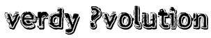 verdy ?volution Font
