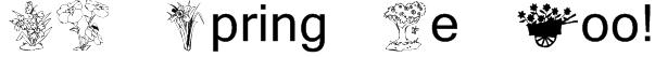 KR Spring Me Too! Font