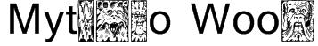 Mythago Wood Font