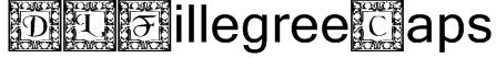 DLFillegreeCaps Font