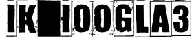 IKHIOOGLA3 Font
