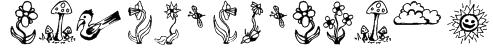 GardenDingbats Font
