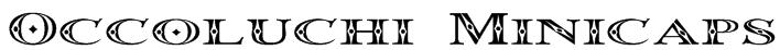 Occoluchi Minicaps Font