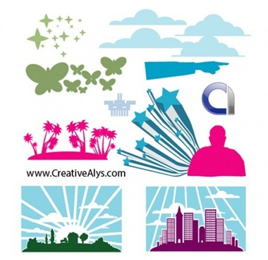 clouds,creative,design,download,elements,graphic,illustrator,new,original,stars,vector,web,detailed,interface,unique,vectors,palm trees,sunset,quality,butterflies,stylish,horizon,fresh,high quality,ui elements,hires,cityscape,design elements,pointing hand,vector mixed elements vector