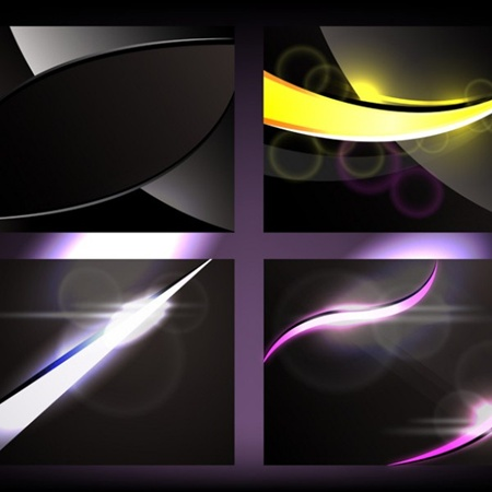 black,business,set,background,templates,vectors,glow,collection vector