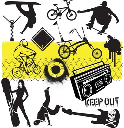 board,creative,design,download,elements,female,graphic,grunge,guitar,illustrator,music,original,sign,skull,snow,vector,web,wire,zip,paint,detailed,interface,skateboarding,bicycle,bike,silhouette,sports,unique,spray,skate,vectors,sexy,extreme,skating,quality,snowboard,graffiti,fence,stylish,tricks,youth,fresh,high quality,ui elements,urban,hires,dancer,electric guitar,rough,snowboarder,street kids vector