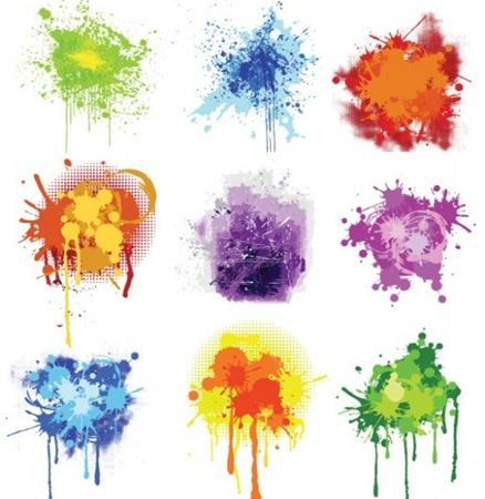 colors,creative,design,download,elements,graphic,grunge,illustrator,new,original,set,vector,web,splash,detailed,interface,unique,colorful,vectors,quality,splatter,stylish,fresh,high quality,ui elements,halftone,splat,hires,paint splatter vector