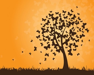 creative,download,illustration,illustrator,original,pack,photoshop,tree,vector,butterfly,modern,silhouette,unique,vectors,quality,butterflies,glow,fresh,high quality,vector graphic vector