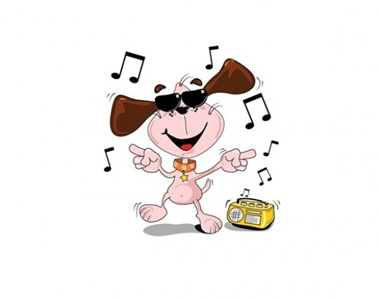 creative,design,download,elements,eps,graphic,illustrator,music,new,original,radio,vector,web,dog,sunglasses,detailed,interface,unique,vectors,musical,quality,stylish,fresh,dancing,high quality,ui elements,hires,cartoon dog,musical notes,dancing dog,dude,vector dog vector